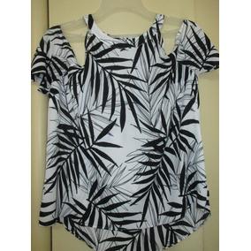 Blusa Estampada Tecido Fino Qualidade Importado Original