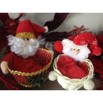 Enfeite Papai Noel Porta Bala