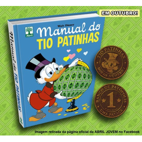 Manual Do Tio Patinhas + Moeda No.1 Walt Disney Novo,lacrado