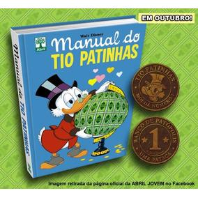 Manual Do Tio Patinhas + Moeda No.1 Walt Disney Novo,lacrado