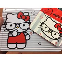 Hello Kitty, Lonchera Metálica Con Artículos De Belleza
