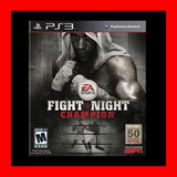 Fight Night Champion Ps3 Digital