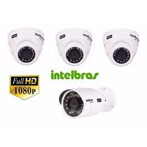 Kit Câmeras Full Hd Intelbras 3 Vhd 3020d + 1 Vhd 3230b