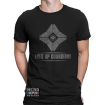 Camisetas Destiny Bungie Games Jogos Guardião Ps4 Xbox Pc