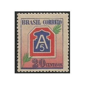 C-206-feb-20cts-ano 45-selo Comemorativo Novo