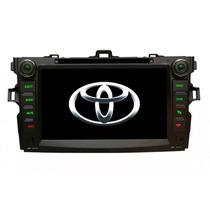Kit Central Multimidia Tv Gps Corolla 08 A 14 Espelhamento