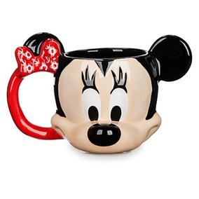 Taza Minnie Mouse 3d Crucero 2016 Disney Parks Hermosa