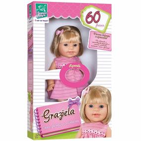 Boneca Graziela 60 Frases - Super Toys