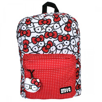 Hello Kitty Mochila Backpack Nerd Polka Dot Sanrio Loungefly