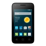 Celular Alcatel 4009f Pixi 3 3.5 Negro Android 4.4.2 Kit Kat