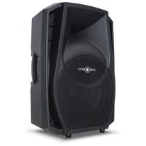 Caixa Acústica Ativa Frahm Ps15a Bt 800w Bluetooth Usb Sd Fm