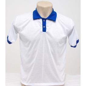 Kit 10 Camisas Polo Branca Para Sublimação - Masc/fem!