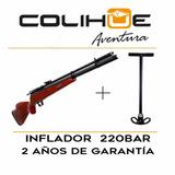 Rifle Pcp Menaldi Jaguar + Inflador Airvam 220bar + Manguera