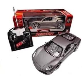 Carrinho Rc Ferrari Led Nas Roda Acend Farol Toys Cz