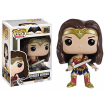 Wonder Woman Funko Pop Batman V Superman Mujer Maravilla