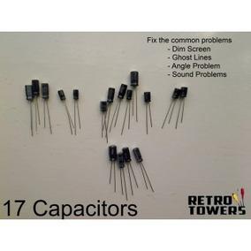 Game Gear Kit Capacitores Solução Imagem