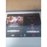 Juego Pc Diablo Y World Warcraft 2 X 1