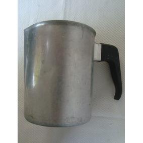Jarro Alto De Aluminio Decoracion 15cm Consulte Envio Gratis
