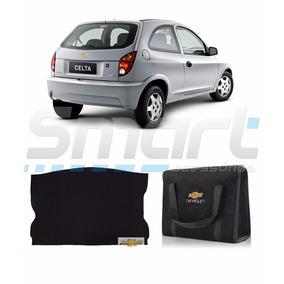 Kit Porta Malas Carpete + Bolsa Chevrolet Celta
