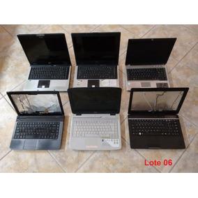 Lote De 6 Notebooks Conforme Anúncio