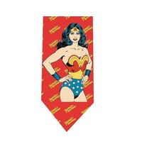 Corbata Wonder Woman - Modelo 4 - Mujer Maravilla