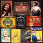 Placas Decorativas Mdf - Cervejas Desenhos Filmes Bebidas