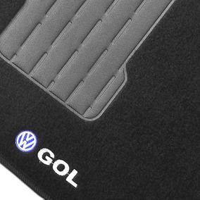 Tapete Gol G5 E G6 Em Carpete Bordado Com Base Emborrachada