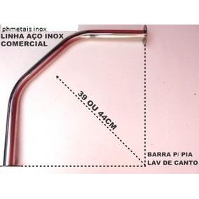 Barras Apoio Em Aço Inox Lavatorio De Canto 335