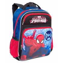 Mochila Escolar Infantil Costas Homem Aranha 64223 Spider M