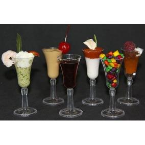 20 Mini Copas Degustación, Postres, Catering, Mesa De Dulces