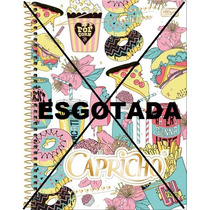 Caderno 1 Matéria Capricho C/96 Fls - Tilibra