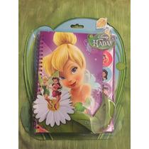Diario Nuevo De Campanita O Tinker Bell, Disney Hadas!!!