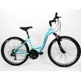 Bicicleta 26 Soul Flow 21v Alumínio Azul (quadro 17)