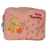 Bolsa Maternidade Baby Looney Tunes Rosa