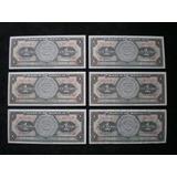 Colección De Billetes Antiguos Mexicanos 1 Peso Sin Circular