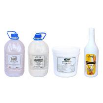 Kit Lánoly Shampoo + Condicionador + Balde Creme + Queratina