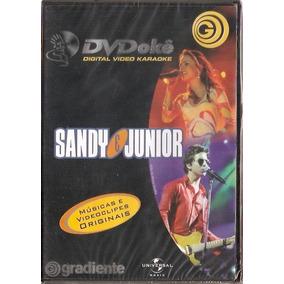 Dvd Dvdokê - Grandes Hits Especiais / Sandy E Junior - Novo*