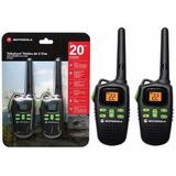 Rádio Motorola Walk Talk Talkabout Md200 Comunicador 32 Km