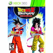 Jogo Dragon Ball Z Budokai Hd Collection Para Xbox 360
