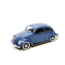 Vw Beetle Sedan Blue Escala 1/17 Solido