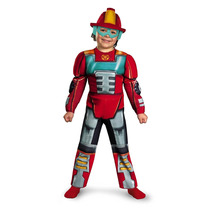 Transformers Heatwave Rescue Bot Kids Costume
