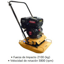Placa Compactadora / Placa Vibratoria 8 Hp