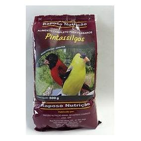 Pássaros Pintassilgo 2,5kg Ração Raposo Nutrição U21