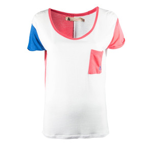 Remera Reef Patcher Mujer Blanco