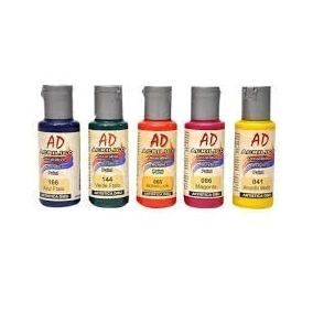 Acrilicos Ad X 36 Unidades. Amplio Stock.