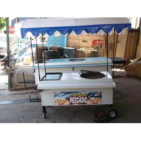 Carro Para Tacos De Pescado Carreta De Antojitos Mexicanos
