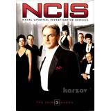 Ncis Criminologia Naval Temporada 3 Tres Importada Dvd