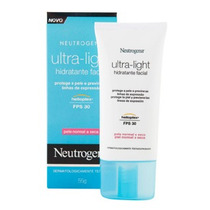 Neutrogena Ultra-light Hidratante Facial Fps30 Pele Normal