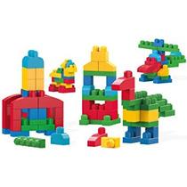 Juguete Kit De Mega Bloks Edificio Grande Box