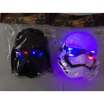 Mascara Star Wars Com Luz Valor Da Unidade